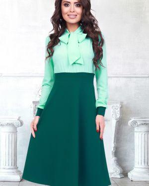 Деловое платье с завышенной талией платье-сарафан Bellovera