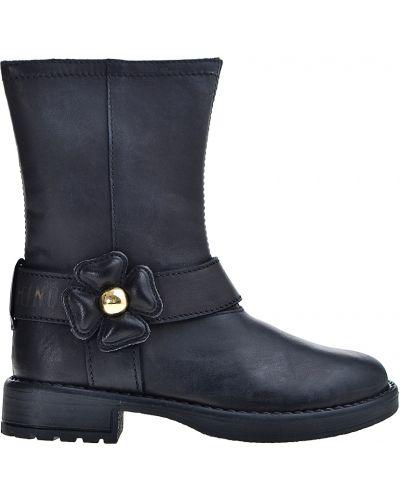 Черные сапоги Moschino