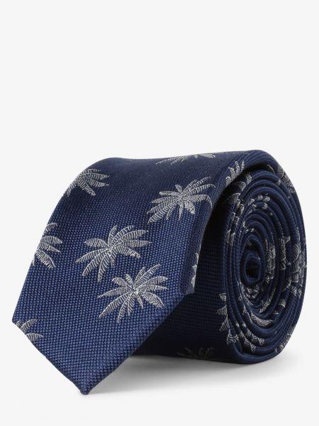 Niebieski krawat Finshley & Harding