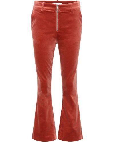 Укороченные брюки брюки-хулиганы дудочки Frame