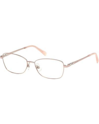 Różowe okulary Swarovski