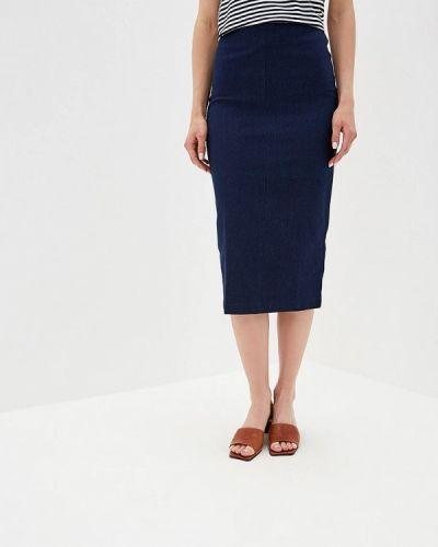 Джинсовая юбка синяя Eliseeva Olesya