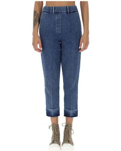 Niebieskie mom jeans Alysi