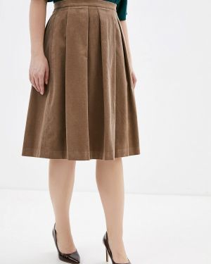 Платье осеннее бежевое Madeleine