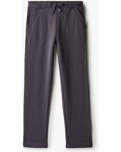 Расклешенные свободные серые спортивные брюки Finn Flare