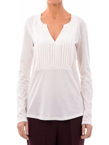 Хлопковая блузка - белая Marina Yachting