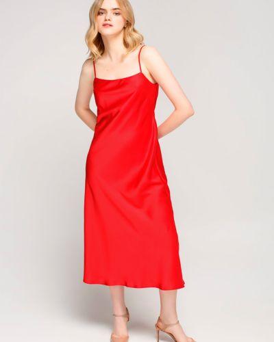 Повседневное красное платье для офиса Must Have