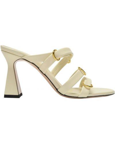 Beżowe sandały skórzane Wandler