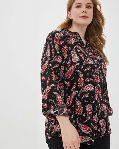 Блузка весенний черная Rosa Thea