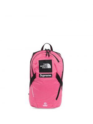 Różowy plecak Supreme