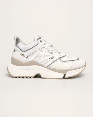Buty na platformie na obcasie na pięcie Karl Lagerfeld