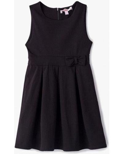 Черное платье осеннее Modis