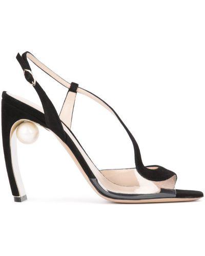 Босоножки на каблуке на шпильке на высоком каблуке Nicholas Kirkwood