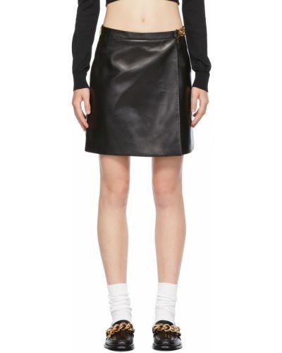 Czarna złota spódnica Versace
