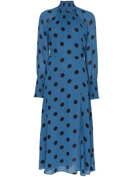 Вечернее платье миди в горошек Reformation