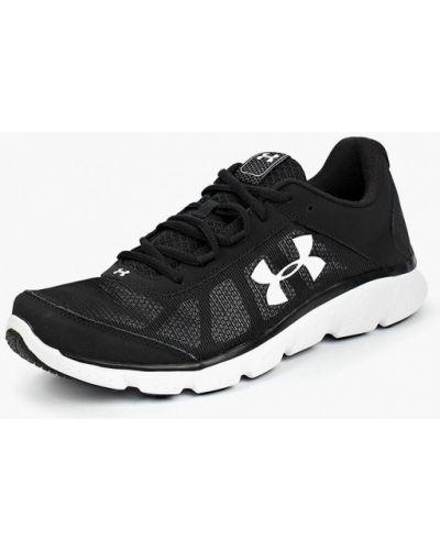 Черные кроссовки низкие Under Armour
