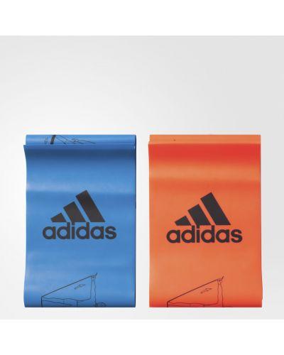Красная резинка для волос Adidas