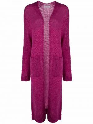 Фиолетовое пальто с карманами Société Anonyme