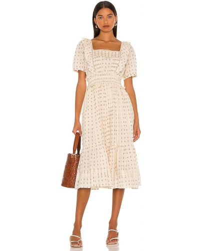 Хлопковое платье миди Cleobella