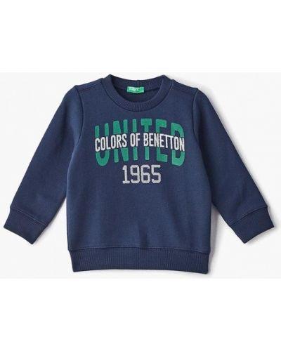Свитшот синий United Colors Of Benetton