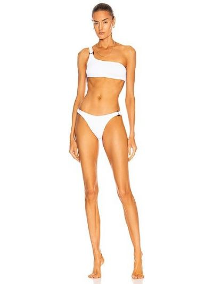 Biały bikini Hunza G