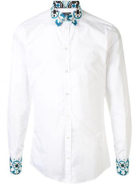 Koszula z długim rękawem klasyczna włoski Dolce And Gabbana