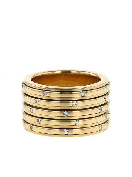 Żółty złoty pierścionek z diamentem Piaget
