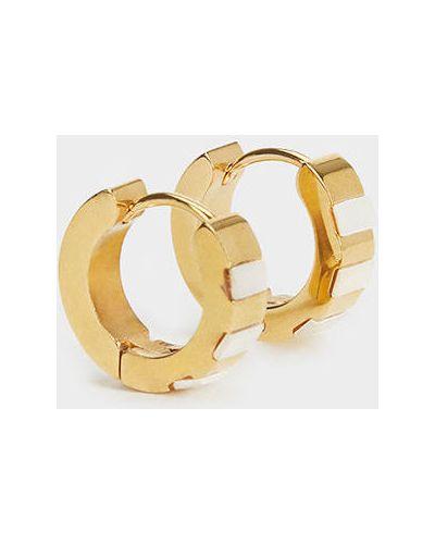 Золотые серьги металлические золотой Parfois