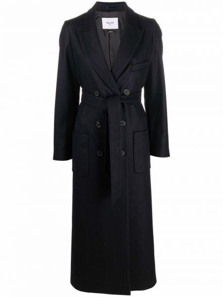 Черное хлопковое пальто PaltÒ