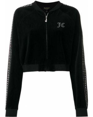 Велюровая спортивный топ Juicy Couture
