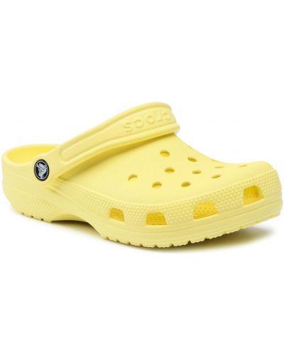 Żółte klasyczne sandały Crocs
