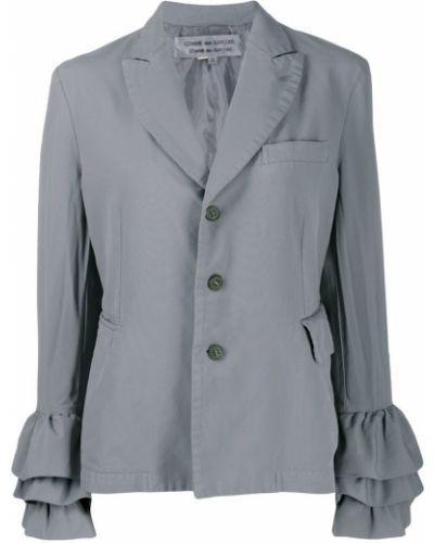 Серая длинная куртка Comme Des Garçons Pre-owned