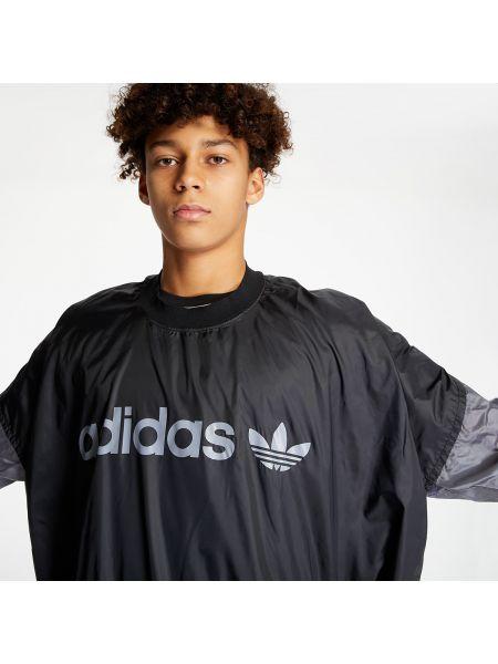 Брендовый черный топ Adidas Originals