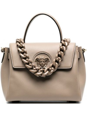 Кожаная сумка Versace