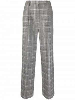 Шерстяные брюки - белые Pt01