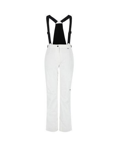 Нейлоновые белые спортивные брюки на молнии VÖlkl