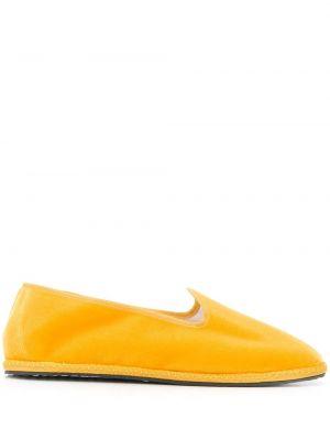 Kapcie żółty okrągły Vibi Venezia