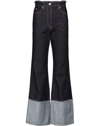 Синие широкие джинсы Jw Anderson