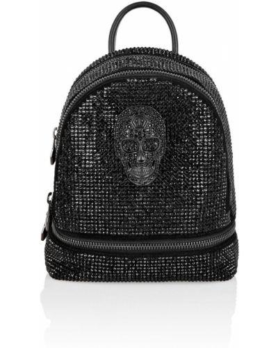 Рюкзак на молнии со стразами Philipp Plein