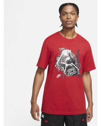 Czerwona t-shirt vintage Jordan
