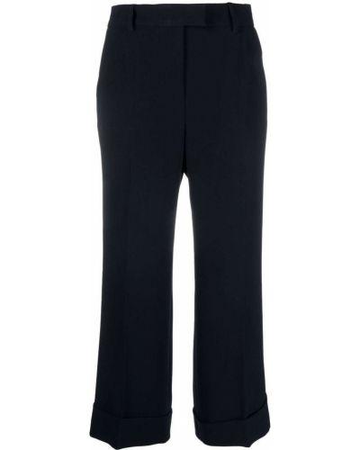 Укороченные брюки - черные Alberto Biani
