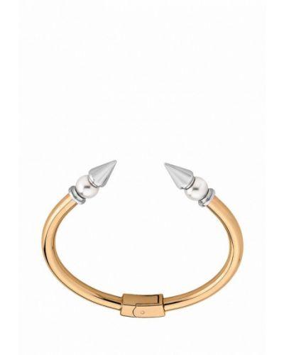 Золотой браслет с подвесками из золота Majorica