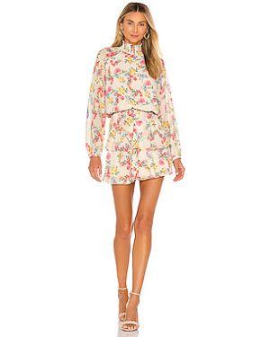 Платье мини на пуговицах с поясом Yumi Kim