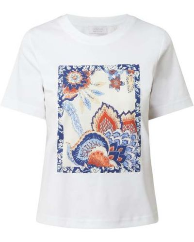 T-shirt z printem - biała Rich & Royal