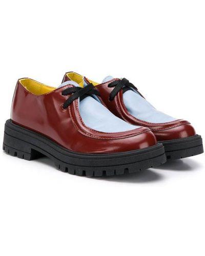 Туфли на шнуровке Marni Kids
