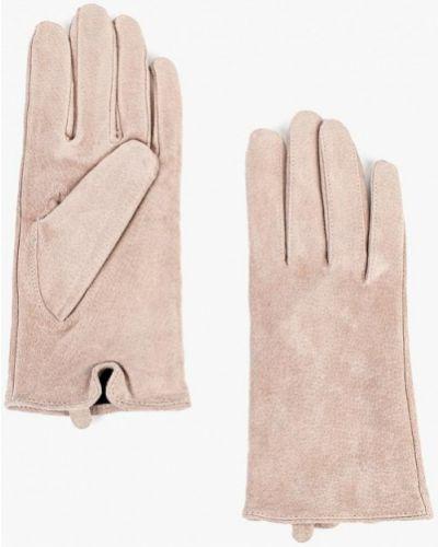 Розовые кожаные перчатки Befree