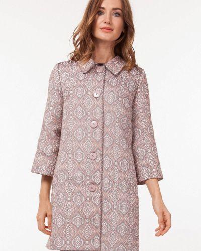 Розовое пальто весеннее Vladi Collection