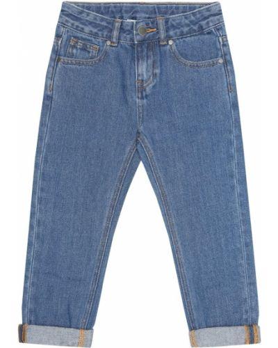 Prosto bawełna bawełna niebieski jeansy Stella Mccartney Kids