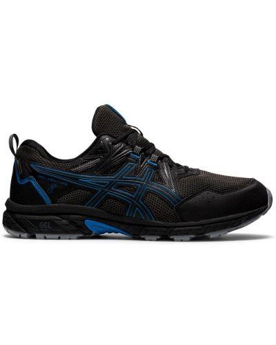 Водонепроницаемые черные кроссовки беговые для бега Asics