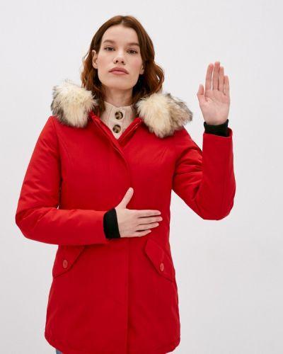 Утепленная красная куртка Paragoose